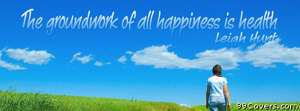 happiness health Facebook Cover Photo