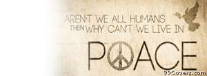humanity peace Facebook Cover Photo