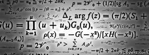 formulas math equations Facebook Cover Photo