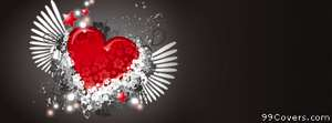 rock n roll heart Facebook Cover Photo