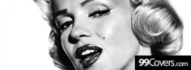 marilyn monroe image Facebook Cover Photo