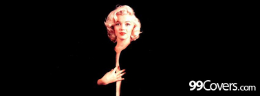 pictures of marilyn monroe Facebook Cover Photo