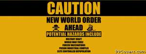 caution new world order Facebook Cover