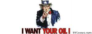uncle sam i want your oil Facebook Cover