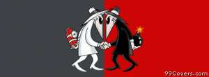 spy vs spy Facebook Cover
