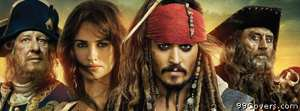 pirates of the caribean on stranger tides Facebook Cover Photo