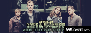 imagine dragons radioactive Facebook Cover