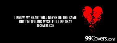 i will be okay Facebook Cover Photo