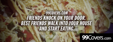 friends knock on your door Facebook Cover Photo