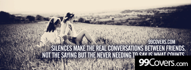 the real conversations Facebook Cover Photo