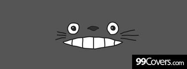totoro smile Facebook Cover