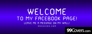 leave me a message Facebook Cover Photo