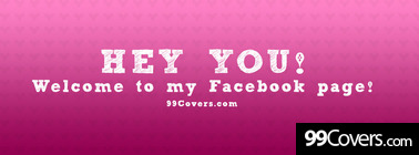 hey you welcome to my page Facebook Cover Photo