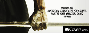 jim ryan on motivation and habit Facebook Cover Photo