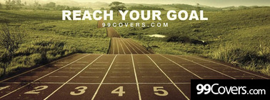 Reach your goal Facebook Cover Photo