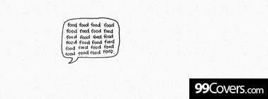 food bubble Facebook Cover Photo