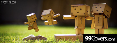 danbo family kids playing Facebook Cover Photo