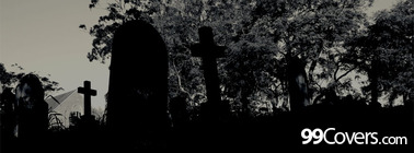 scary cemetary Facebook Cover Photo