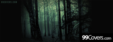 creepy forest Facebook Cover Photo
