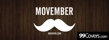 Movember Facebook Cover Photo