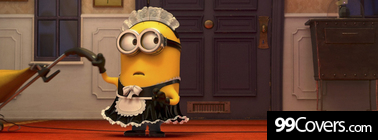 despicable me 2 minon maid Facebook Cover Photo