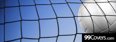volleyball net Facebook Cover Photo