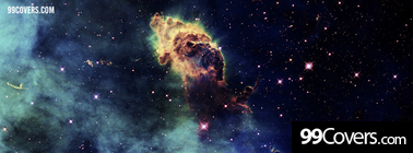 outer space stars nebulae Facebook Cover Photo