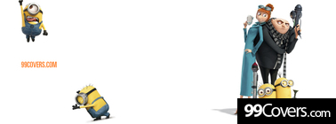 despicable me funny Facebook Cover
