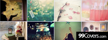 girly me imagine everything Facebook Cover Photo