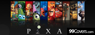pixar movie collage Facebook Cover Photo