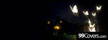 fantasy butterflies Facebook Cover Photo