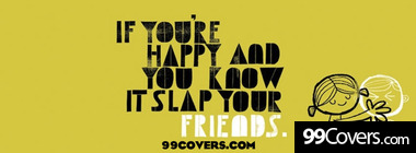 slap your friends facebook image Facebook Cover Photo
