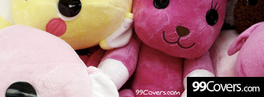 cute plush timeline pictures Facebook Cover Photo