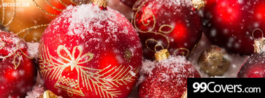 christmas ornaments pics Facebook Cover Photo