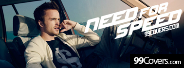 need for speed movie Aaron Paul Facebook Cover Photo