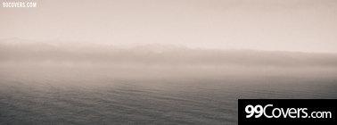 foggy ocean Facebook Cover Photo