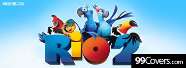 rio 2 movie Facebook Cover Photo