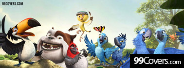 rio 2 movie 2014 Facebook Cover Photo