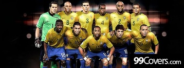 Brazil Football Team Facebook Cover