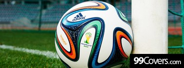 Brazuca Ball 2014 World Cup Facebook Cover