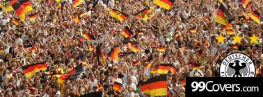 germany football fans Facebook Cover
