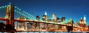new york lights Facebook Cover Photo