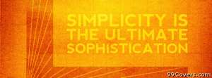 simplicity Facebook Cover Photo
