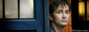 david tennant as doctor who Facebook Cover Photo