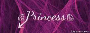 princess at profile pic Facebook Cover Photo
