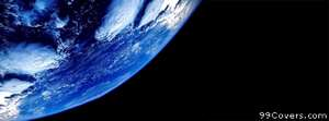 earth from space Facebook Cover Photo