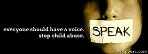 child abuse awareness Facebook Cover Photo