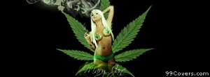 gangster 420 mary jane Facebook Cover