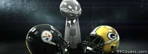 superbowl packers vs steelers Facebook Cover Photo