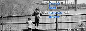 friends and memories Facebook Cover Photo